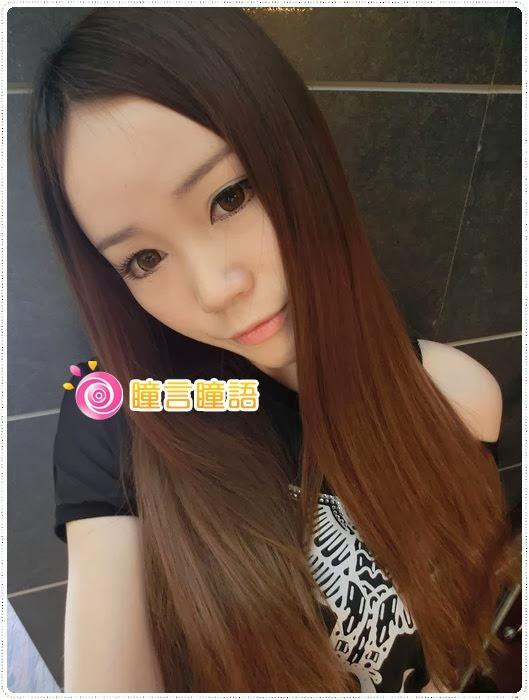 日本KRIAKRIA隱形眼鏡-Sweety Eye 糖果巧克力CIMG1730