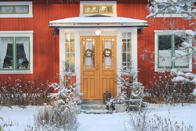 Inglasad veranda. Foto: Erika Åberg