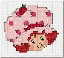 cenfa punto de cruz tarta de fresa (8)