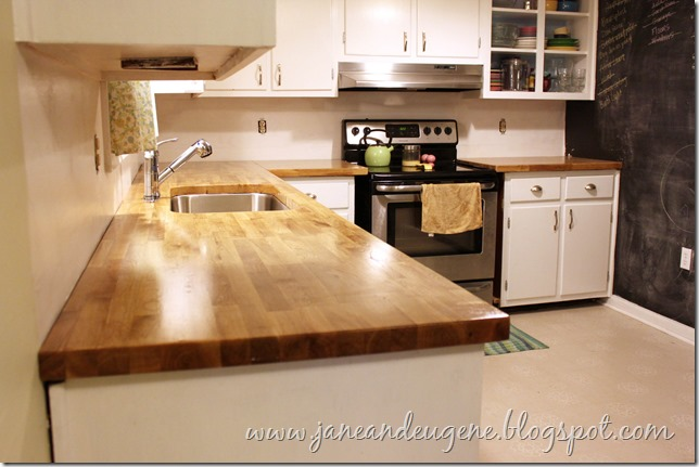 So Much Jane And Eugene Installed Butcher Block Countertop