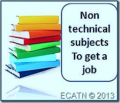 non technical subjects