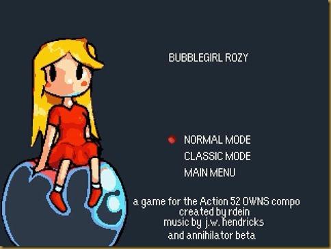 Bubblegirl Rozy タイトル