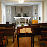 Chapel at Anglea House of Prayer.  Angela House welcomes retreatants from the Chicago area.