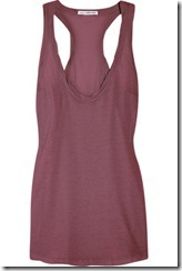James Perse cotton-jersey racer-back tank £80