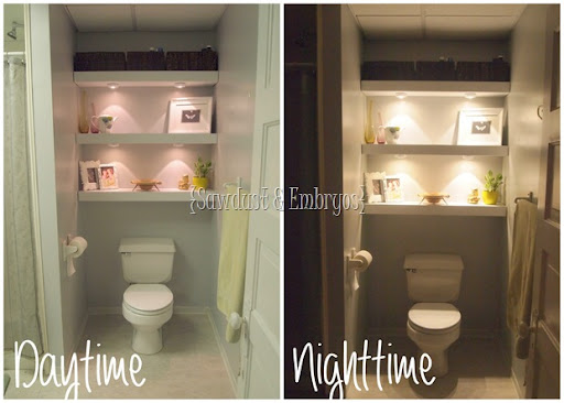 Building a Floating Shelf in your Toilet Cove! - Reality Daydream