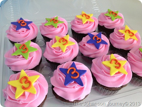 The Johanson Journey Dora Party Cupcakes