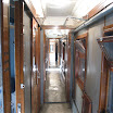 The accomodation of camp is in the old sleeping coaches originally used by Finnish State Railways.