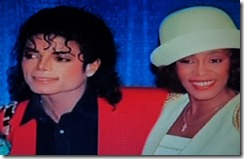 Whitney Houston, Michael Jackson
