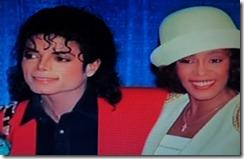 Whitney Houston, Michael Jackson