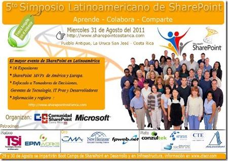 Invitacion5SimpsioSharePoint2011