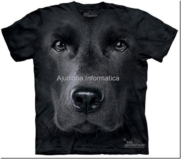 camiseta caozinho