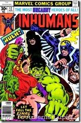 P00014 - Inhumans v1 #12