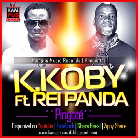 K.Koby ft. Rei Panda-Pingoté_CD_Cover_II_Kampus Music Records