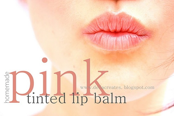 tinted lip balm tutorial