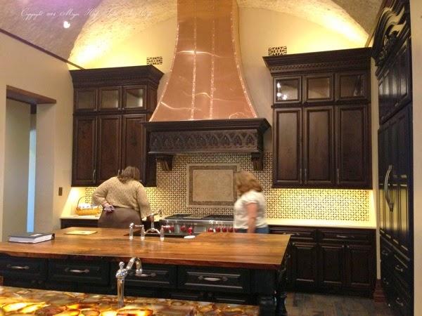 Kitchen with 2 islands Butcher block island