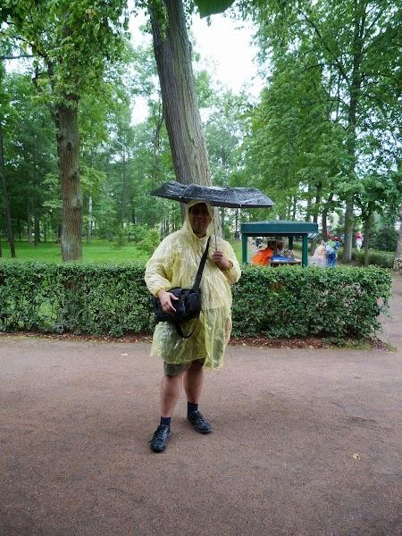 Ploaie la Peterhof