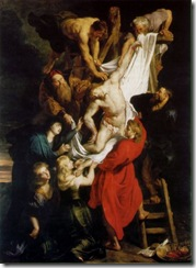 Rubens - A Descida da Cruz, de Peter Paul Ruben