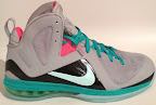 nike lebron 9 ps elite grey candy pink 3 01 LeBron 9 P.S. Elite Miami Vice Official Images & Release Date