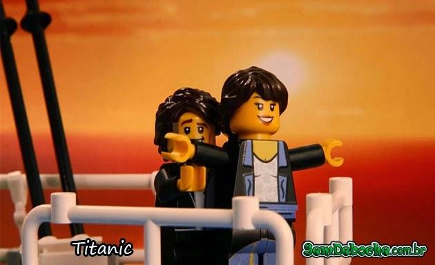 FILMES RECRIADOS EM LEGO: TITANIC!