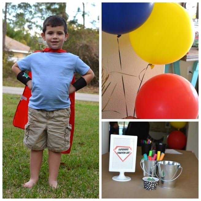 Create Your Own Superhero Party - poofycheeks.com