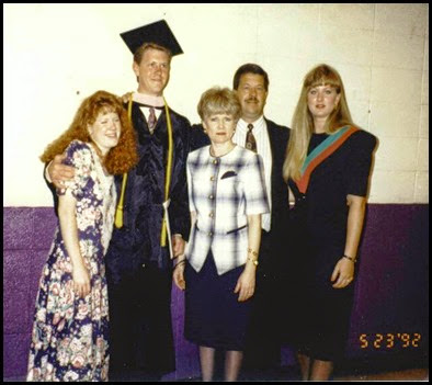 1992 May Mark's college grad
