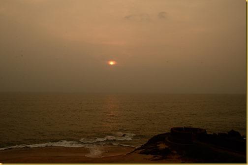 Sunset Bekal Fort, Bekal Fort, Bekal Fort Kerala, Taj Vivanta Bekal Fort, photo sunset Bekal Fort
