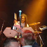 Austin on the electric drumset in Hamilton, Ontario, Canada