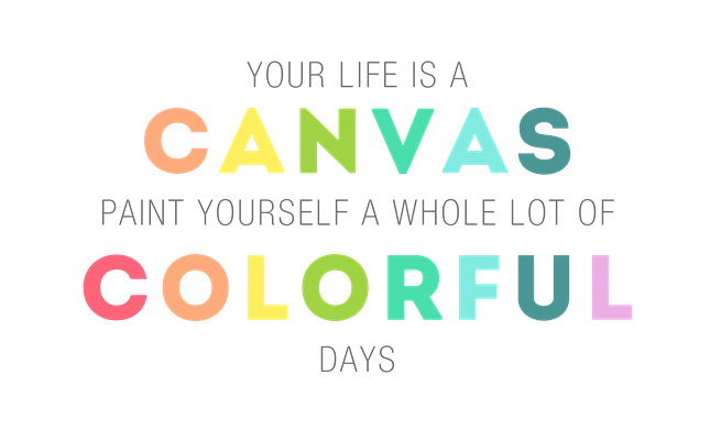 colorful days 1
