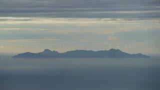 Blick auf Waya von Mt. Batilamu Hut; Wanderung im Koroyanitu National Heritage Park.