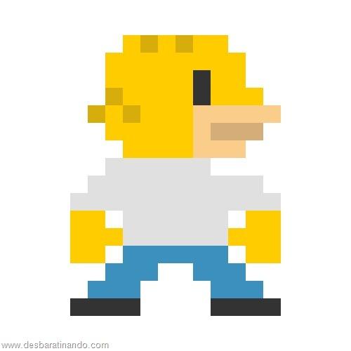 super herois e viloes em 8 bits os simpsons (3)