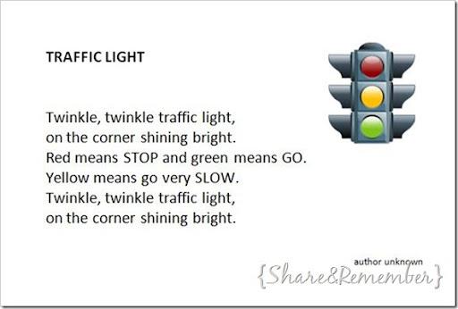 image regarding Traffic Light Printable named Visitors Mild Puppet and Track Card