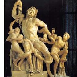 106 - Escuela de Rodas - Grupo del Laoconte y sus hijos