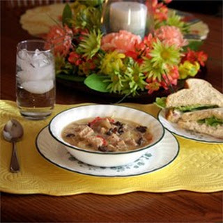 Chicken, Fennel and Mushroom Soup
