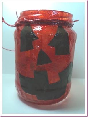 Halloween Jar Lantern