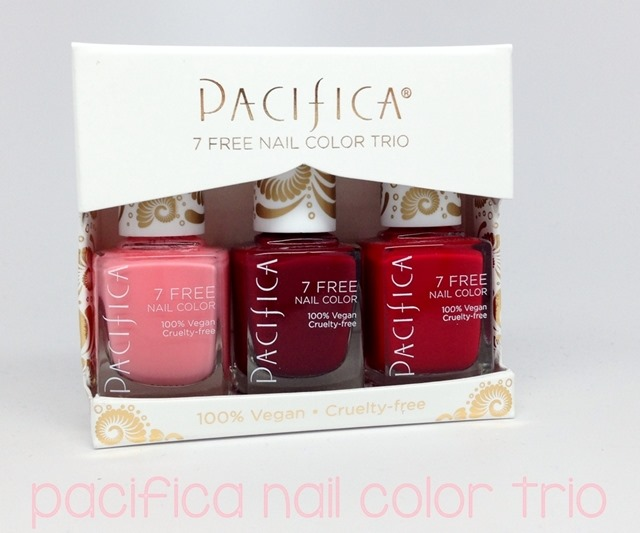 Win this Pacifica Nail Color Trio from polish insomniac!