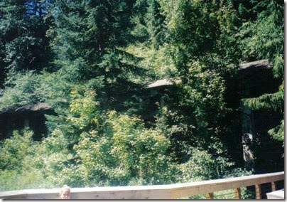Concrete Snowshed on the Iron Goat Trail in 2000