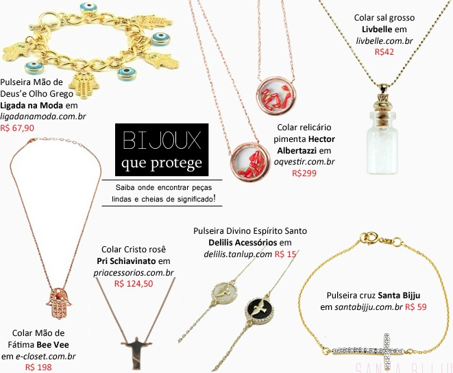 bijoux sorte e protecao amuletos