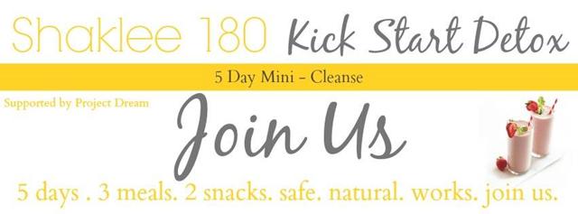 180 Kick Start Detox Intro