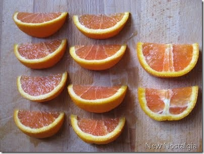 best way to cut an orange