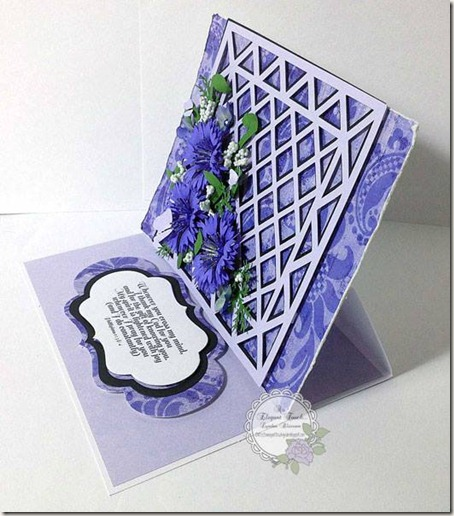 cornflower card-lynden