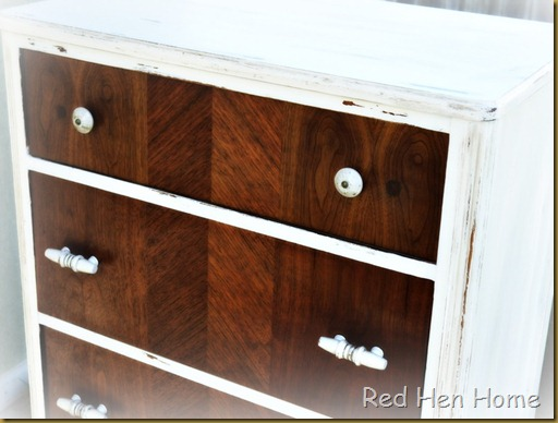 Red Hen Home: two tone dresser