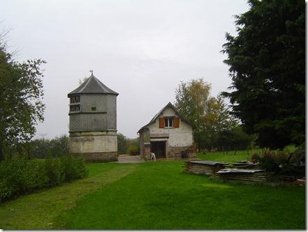 la ferme de Clairfaye aujourd'hui (c'est devenu un gte rural)