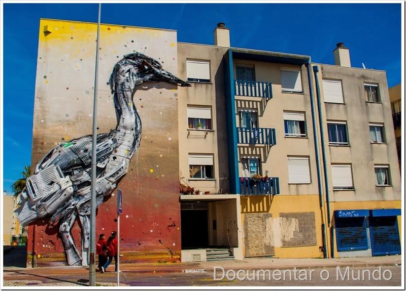 Quinta do Mocho; galeria de arte urbana