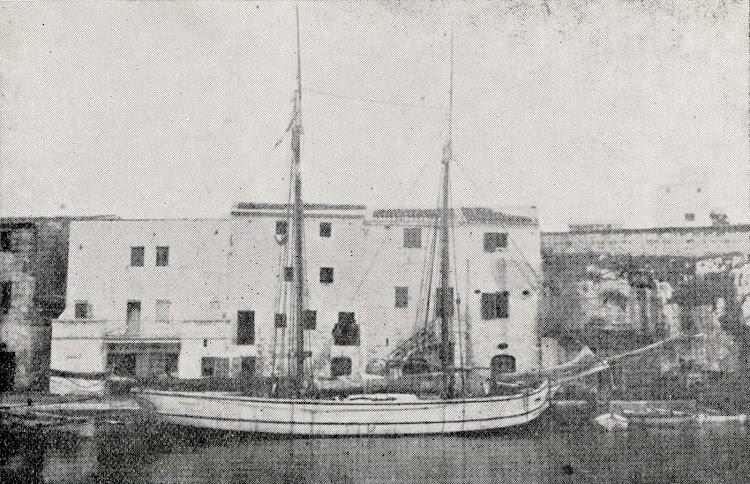 Pailebote LOS AMIGOS. Del libro Las Efemérides Marítimas de Ciudadela en los Siglos XVIII y XIX.JPG