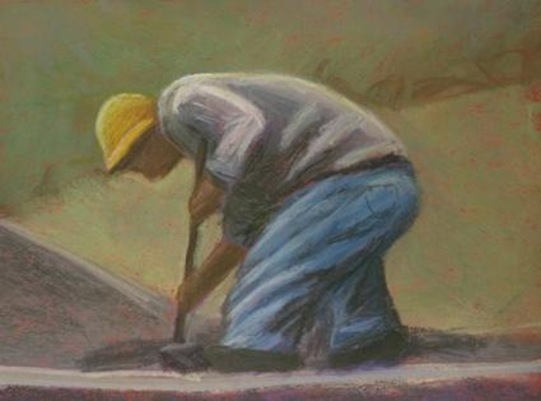 breaking_ground__original_pastel_painting_by_micah_condon_0ccb3766c13d47dba486790b1fdb7072