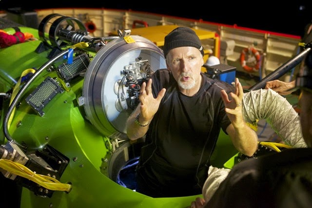 James Cameron talks about what he saw from the cockpit of the DEEPSEA CHALLENGER in his dive to 8,221 meters.