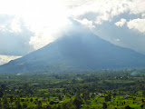 Gunung Sinabung from Gundaling Hill, Brastagi (Chris Whiting, December 2010)