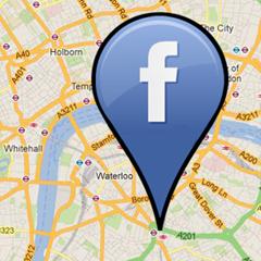 Facebook GPS