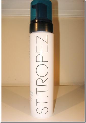 St. Tropez bottle front