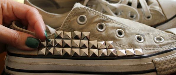 DIY tachas_converse